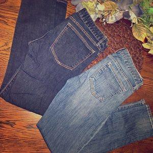 2 pair of GAP 1969 Always Skinny jeans - Size 2